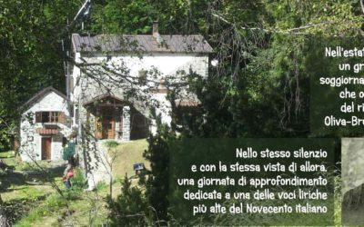 Rebora, poesia in un rifugio alpino