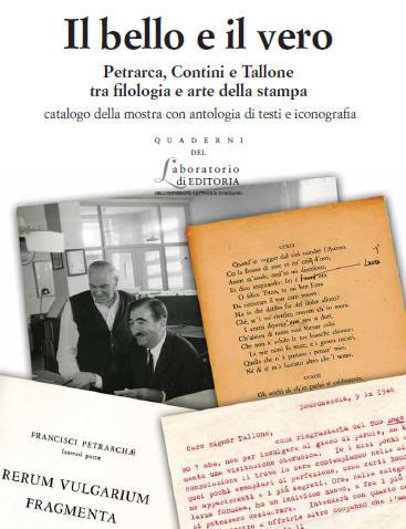 Il bello e il vero. Petrarca, Contini e Tallone tra filologia e arte della stampa