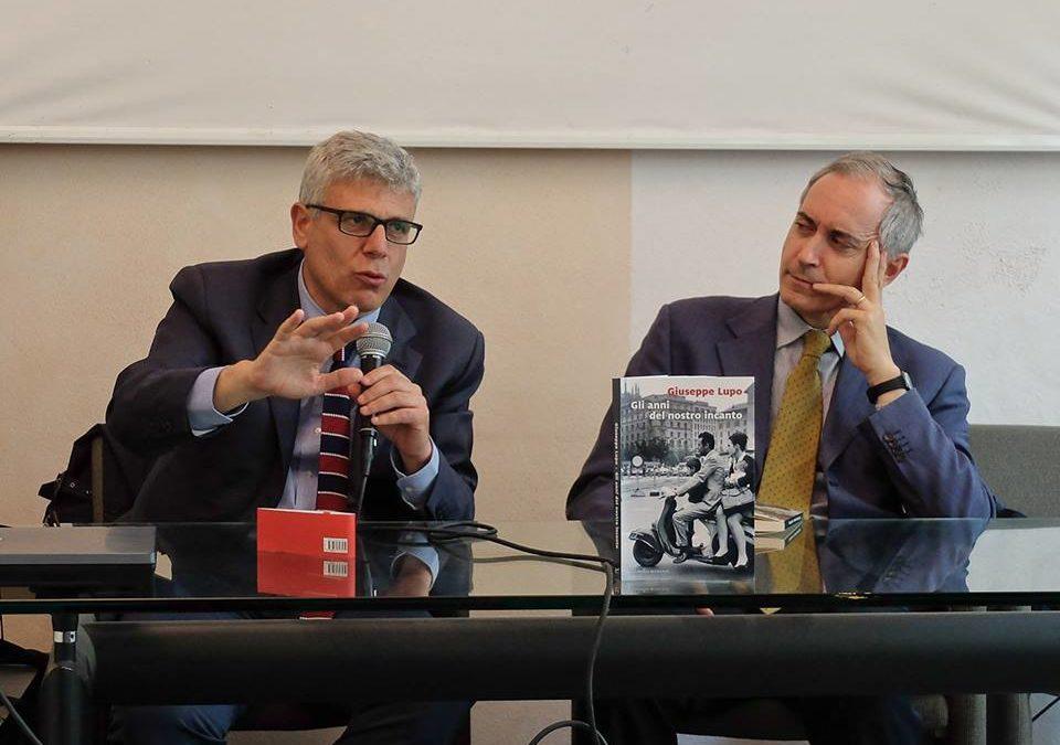 """A Novara boom e '68 con """"Gli anni del nostro incanto"""" di Giuseppe Lupo"""