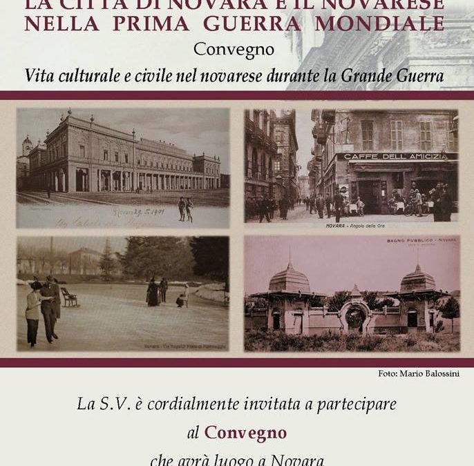 Novara e la Grande Guerra tra cultura e società